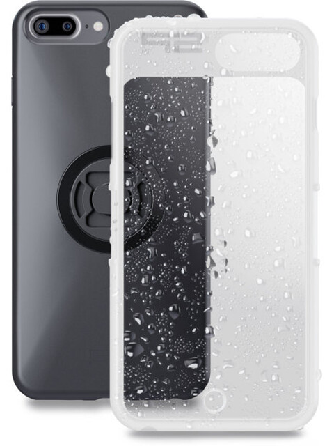 SP Connect Weather Cover iPhone 8+/7+/6S+/6+ schwarz-transparent